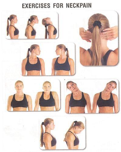 latihan untuk nyeri leher