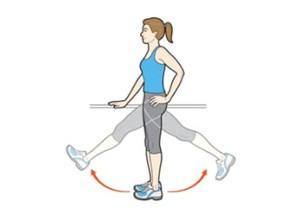 gerakan peregangan kaki