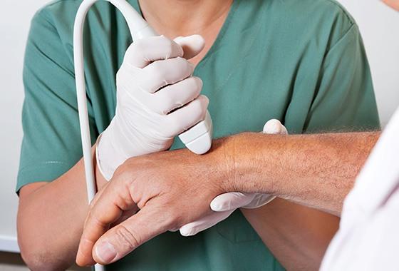 Pengobatan Carpal tunnel syndrome dengan Ultrasound