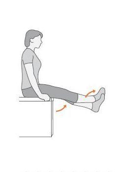 latihan lutut