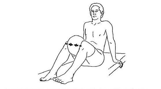 latihan untuk lutut