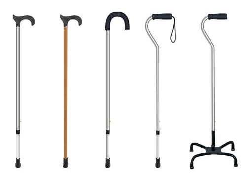 tongkat untuk membantu berjalan