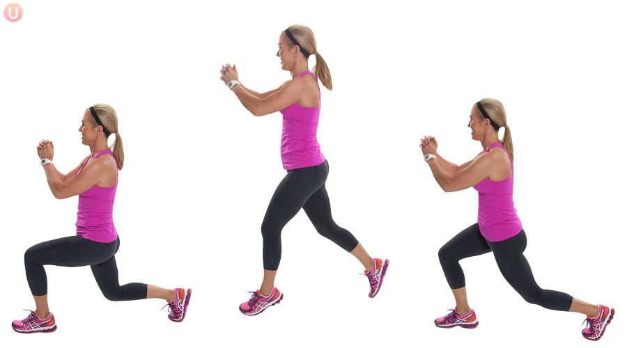 lunge position