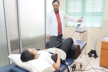 pengobatan saraf kejepit dengan DTS